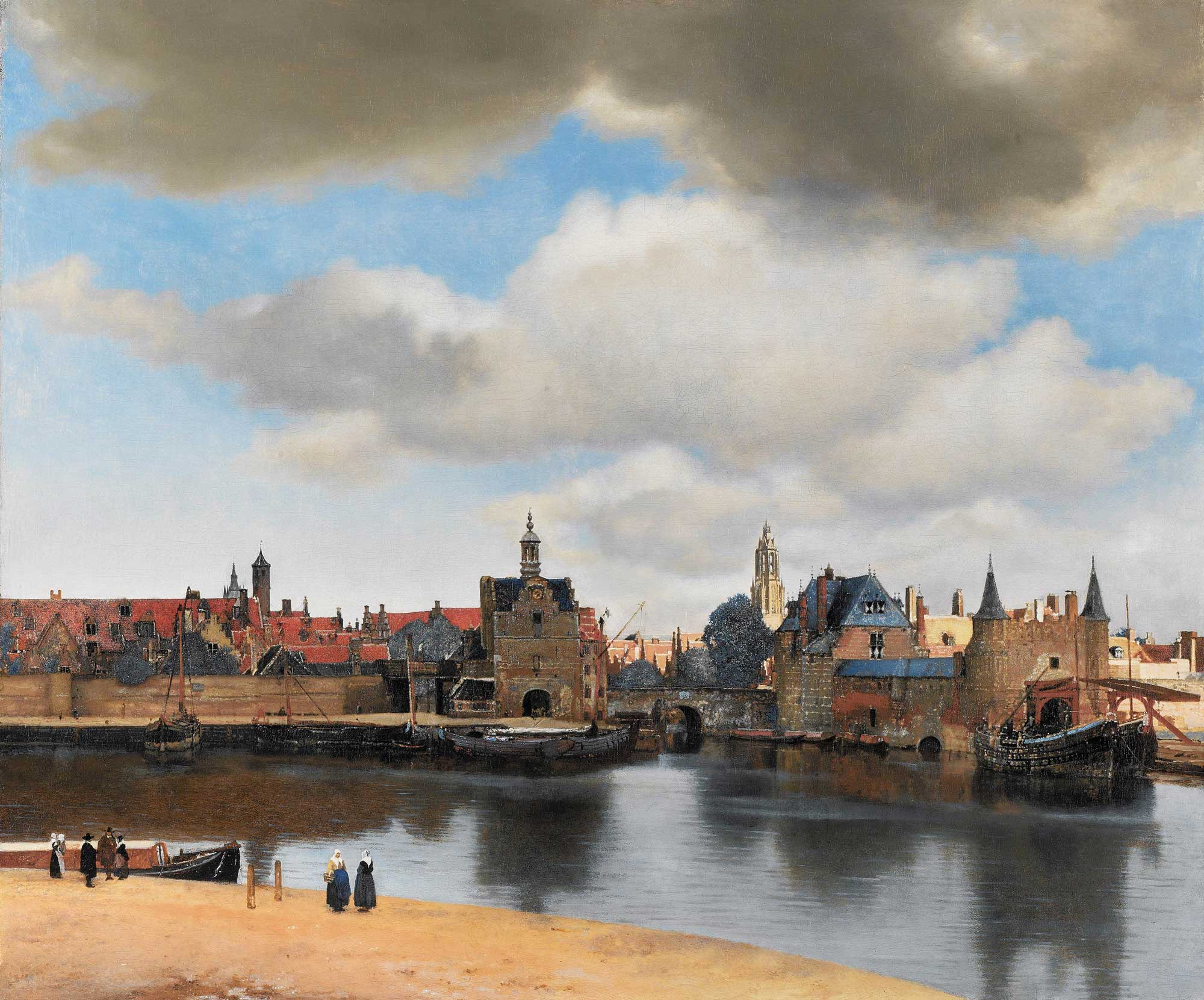 Vermeer-view-of-delft-small