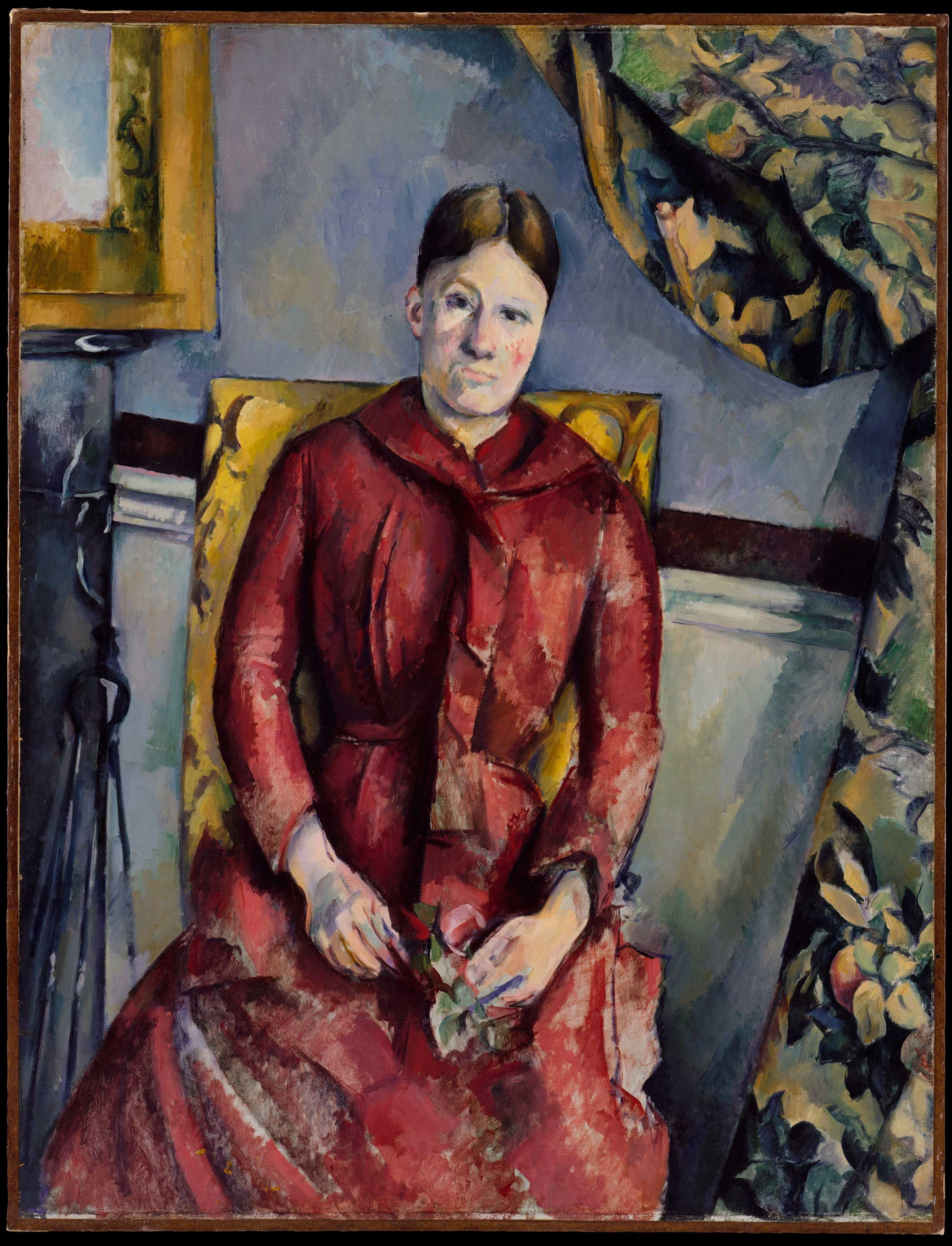 Paul_Cezanne_1888-90_Madame_Cezanne_(Hortense_Fiquet_1850–1922)_in_a_Red_Dress_oil_on_canvas_116.5_x_89.5_cm_The_Metropolitan_Museum_of_Art_New_York